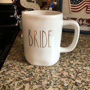 "NWT Rae Dunn ""Bride"" Ceramic Mug"